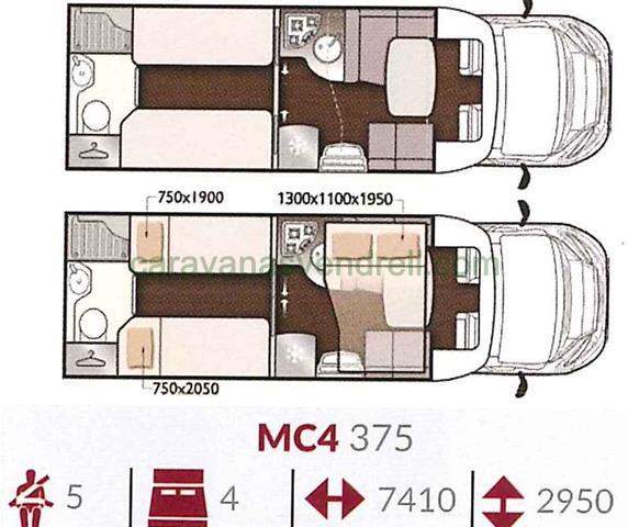 MC4 MCLOUIS MC4 - 375