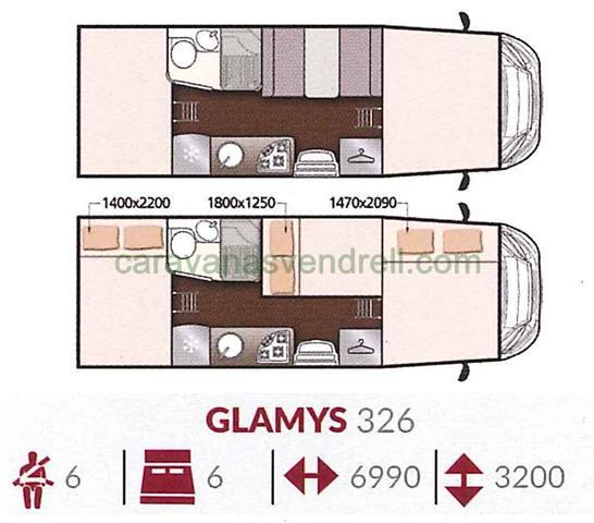 MCLOUIS GLAMYS 326