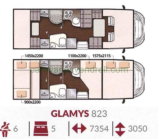 MCLOUIS GLAMYS 823
