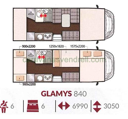 MCLOUIS GLAMYS 840