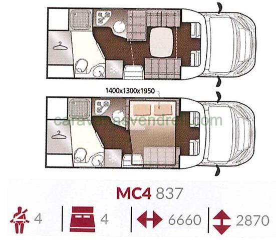 MCLOUIS MC4 - 837
