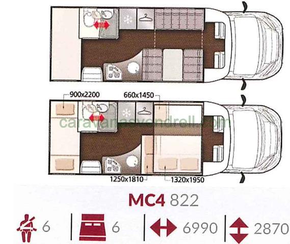 MCLOUIS MC4 - 822