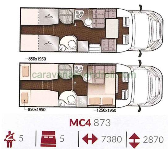 MCLOUIS MC4 - 873