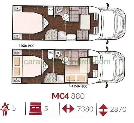 MCLOUIS MC4 - 880