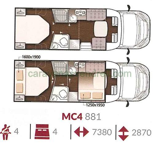 MCLOUIS MC4 - 881