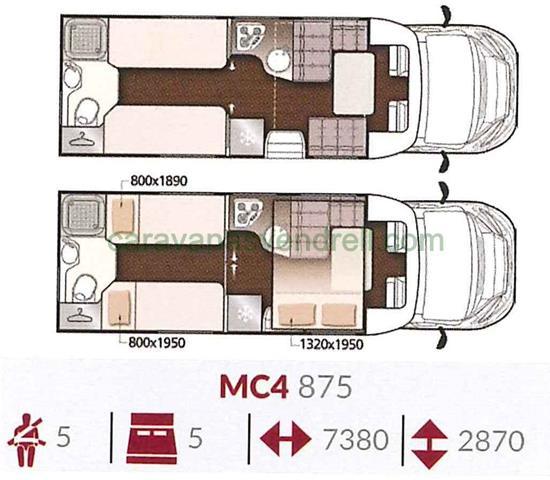 MCLOUIS MC4 - 875