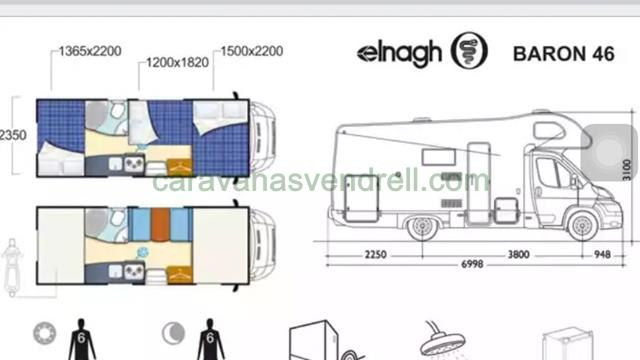 ELNAGH BARON 46