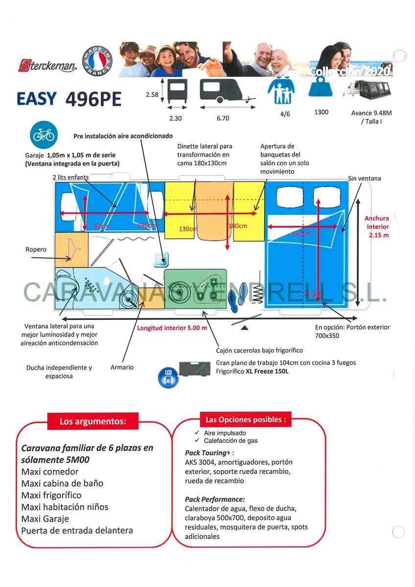 STERCKEMAN EASY 496-PE - GAMA 2020