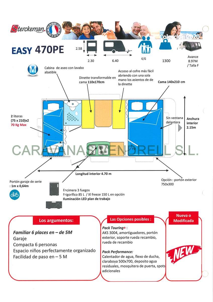 STERCKEMAN EASY 470-PE - GAMA 2020