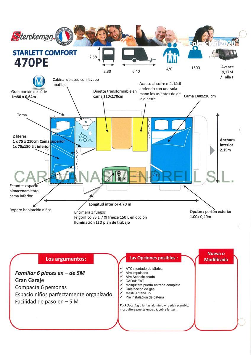 STERCKEMAN COMFORT 470-PE - GAMA 2020