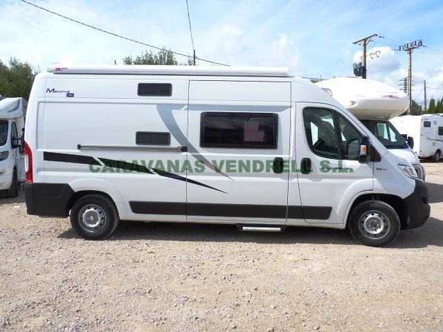 VENDIDA - CAMPER MCLOUIS MENFYS VAN 3 MAXI S-LINE AÑO 2019