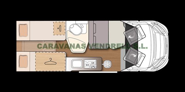 MENFYS S-LINE PRESTIGE VAN 4 CS - 2021