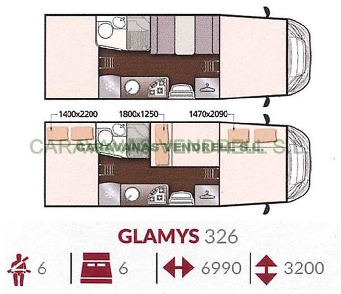 MCLOUIS GLAMYS 326 - 2019