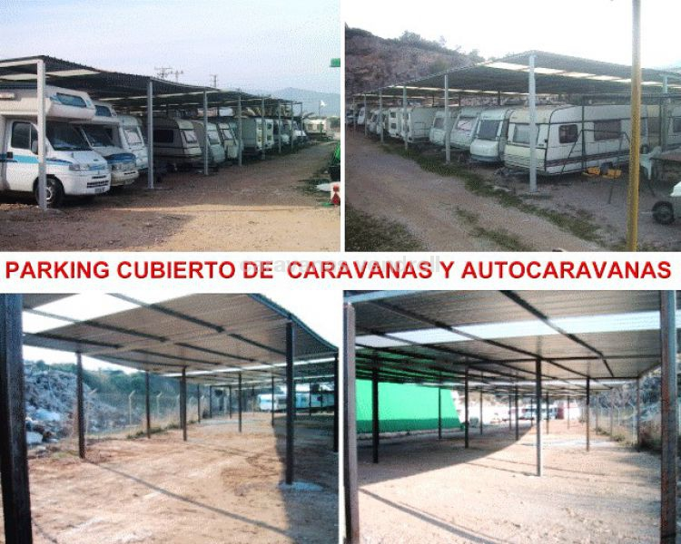 PARKING CARAVANAS Y AUTOCARAVANAS